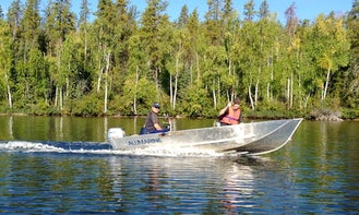 Alumarine Boat Day Fishing Trips in Fort Smith