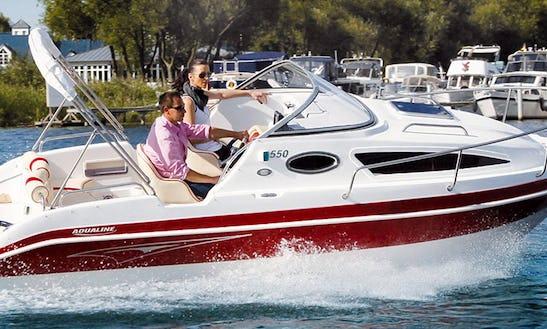 Rent Powerboat Aqualine 550 In Potsdam