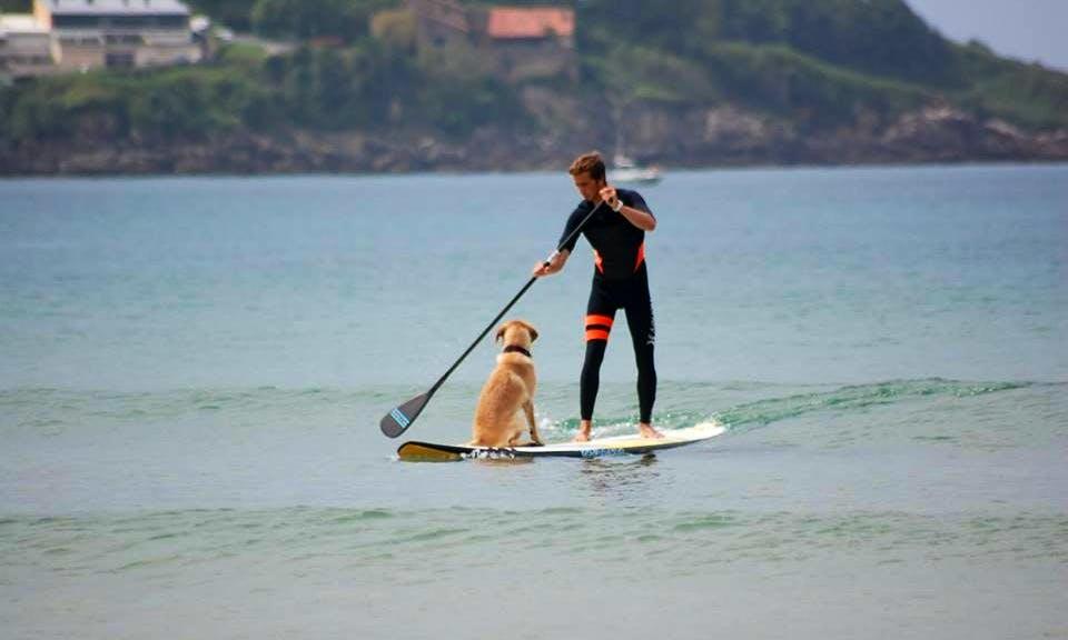 Paddleboard Rental & Lessons in Hendaye,France