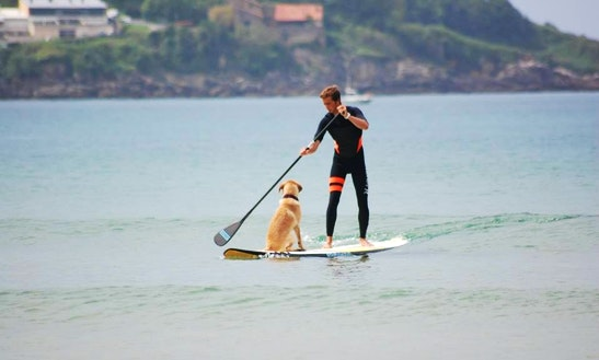 Paddleboard Rental & Lessons In Hendaye,france