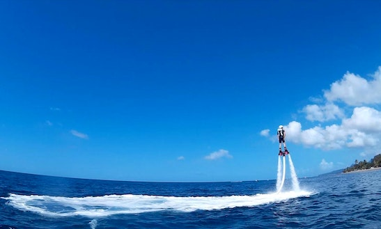 Flyboard In Le Carbet, Martinique