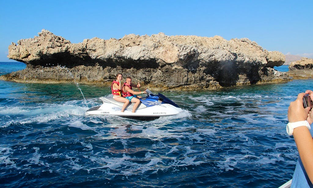 110 HP Yamaha Wave Runner Hire & Safari in Rodos