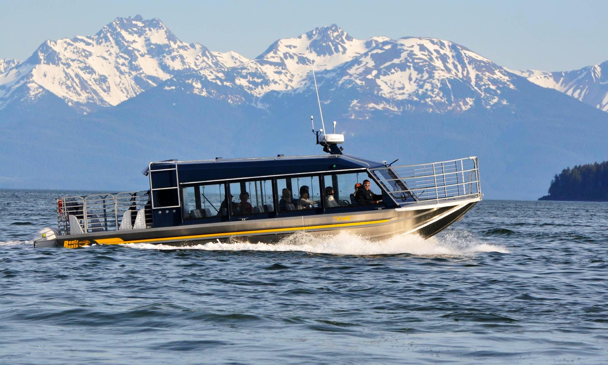"""""""S'eet"""" Boat Whale Watching Trips in Juneau"""