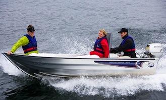 Rent Linder 400 Sportman Powerboat In Aakirkeby