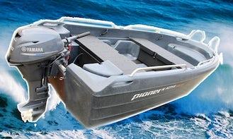 Rent Pioner 14 Active Motorboat In Aakirkeby