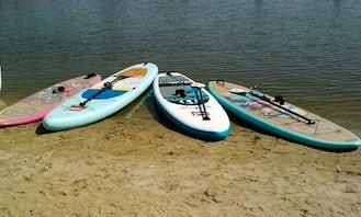 Stand Up Paddleboard Rental  At Katepwa Beach