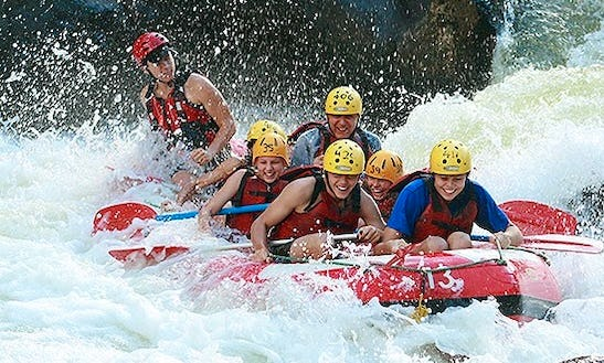 White Water Rafting On Barron Gorge River