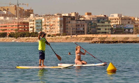 Stand Up Paddleboarding Lessons In Torrevieja