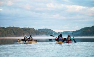 Guided kayak tour In Trakai