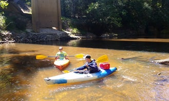 Family Kayaking Vacations in Elba, Alabama!