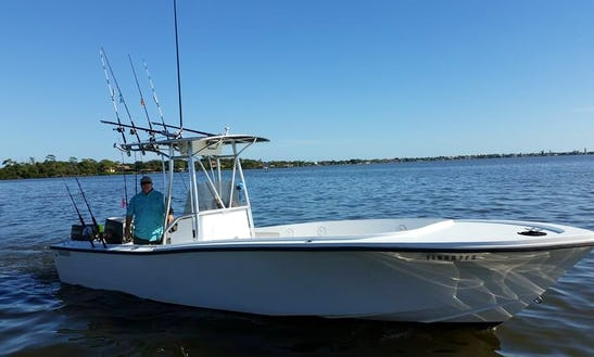 Port Canaveral Fishing Charter On 26' Mako Center Console