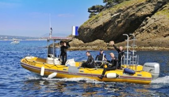 Rib Diving Trips In La Ciotat, France