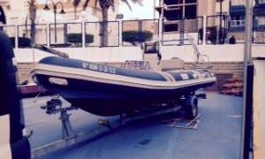 21' RIB Diving Trips in Aguadulce, Spain