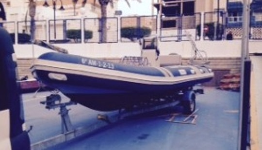 21' Rib Diving Trips In Aguadulce, Spain