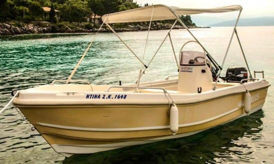 Rent Ntina Sk 1648 Powerboat In Kerkira