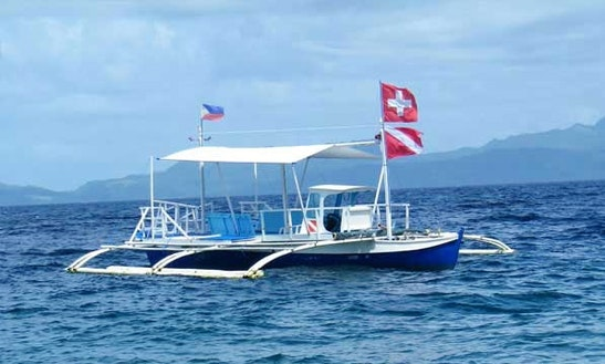 Leyte Diving Boat In Padre Burgos