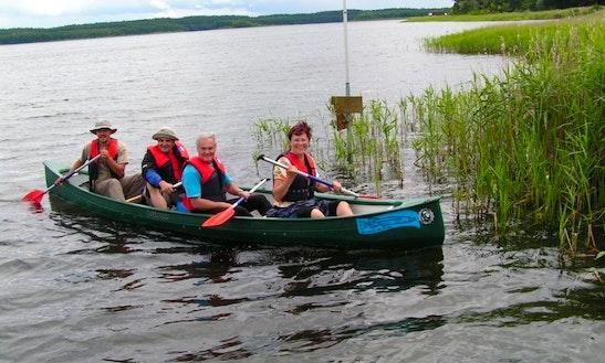 Canoe Rental In Kratzeburg