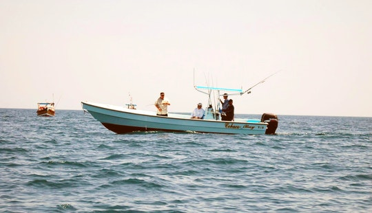 27' Caribepro Panga Center Console Fishing Charter For 4 Persons In Veraguas, Panama