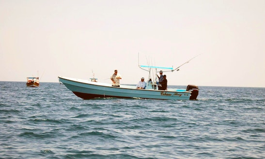 27' Caribepro Panga Center Console Fishing Charter For 4 Persons In Veraguas, Panama