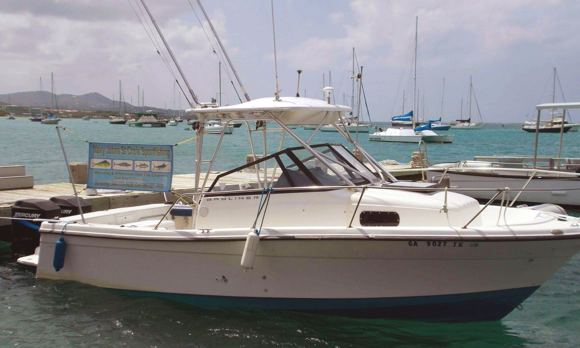 'Island Time' Boat Fishing Charter in Christiansted