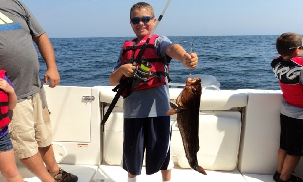 Enjoy fishing on 25 39 steiger craft center console in south for Portland maine fishing charters