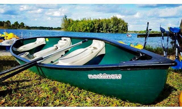 Book A Canoe In Royal Palm Beach, Florida