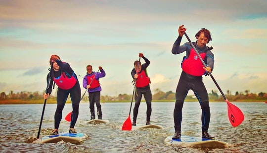 Stand Up Paddleboard Lesson In Bournemouth, United Kingdom