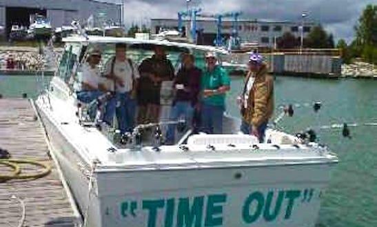 30' Baha Cruiser Fishing Charter In Benton Township