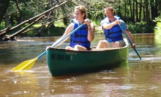 Daily Canoe Rental In Springdale Township, Michigan