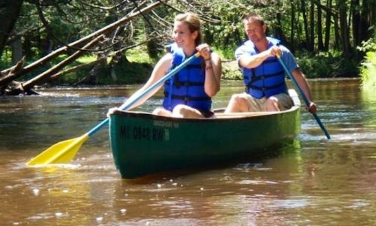 Daily Canoe Rental In Springdale Township, Michigan