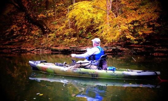 Fishing Kayak Rental In Silver Point, Tennessee