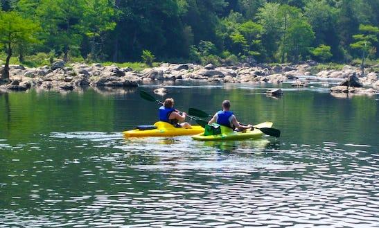 Kayak Trips In Broken Bow