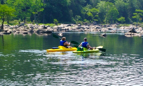 Kayak Trips In Broken Bow