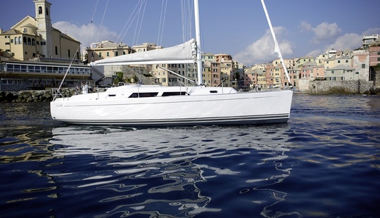 Charter A 6 Person Hanse 370 Sailboat In Greifswald, Germany