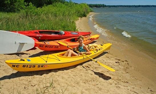 Kayak Rental On Lake Macatawa