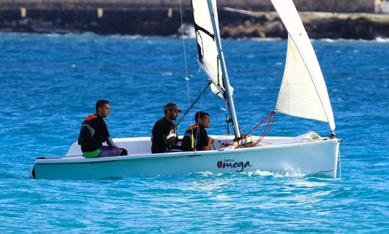 Omega 1 Dinghy Rental In Paros - Naoussa Sailing Team