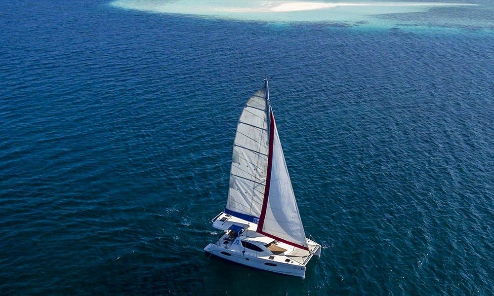 38' Cruising Catamaran Rental in Malé, Maldives