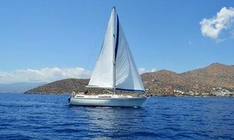 'Jaquelina V' Moody 40 Monohull Charter in Lasithi