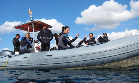 Boat Diving Trips & Snorkeling In Madrid