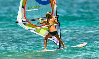 Windsurfing Private Lessons in Paros