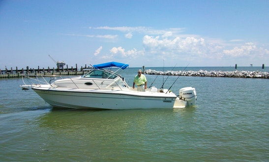 Enjoy Fishing In Gulf Shores Alabama On Cuddy Cabin