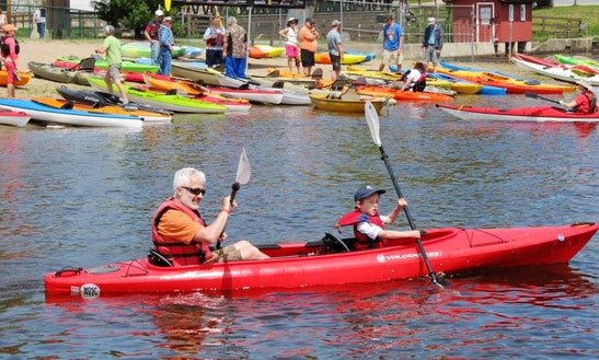 Tandem Kayak Rental In Old Forge