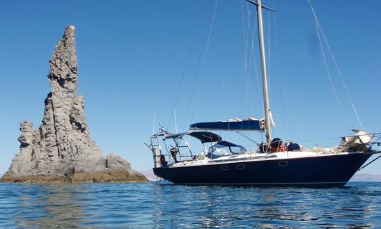 42' Jeanneau Sailboat Cruise To Saroconic Island, Greece