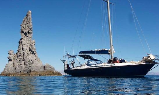42' Jeanneau Sailboat Cruise To Saroconic Island, Greece