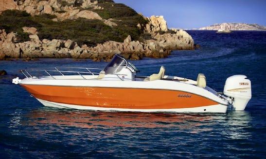 20' Sessa Key Largo Deck Boat Rental In Trogir, Croatia