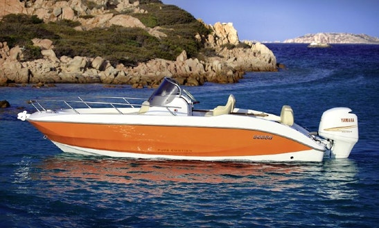 20' Sessa Key Largo Deck Boat Rental In Trogir, Croatia