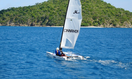 14' Hobie Wave Rental, Lessons & Tours In St John