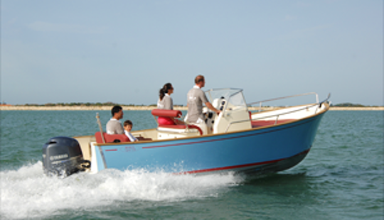 Rent The Rhea 23 Open Boat In La Rochelle