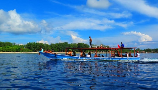 Diving Boat For 30 People In Lombok, Indonesia