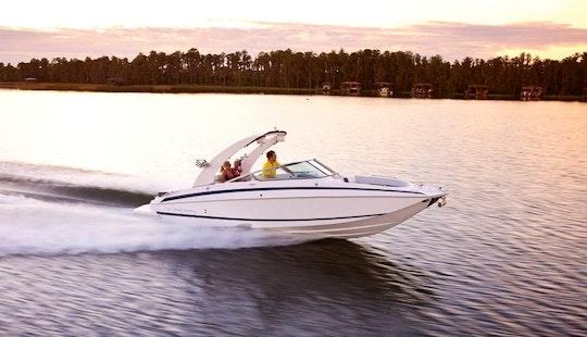 Regal 27 Fast Deck Yacht Charter In Santanyí